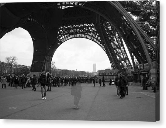 Lost In Paris Canvas Print