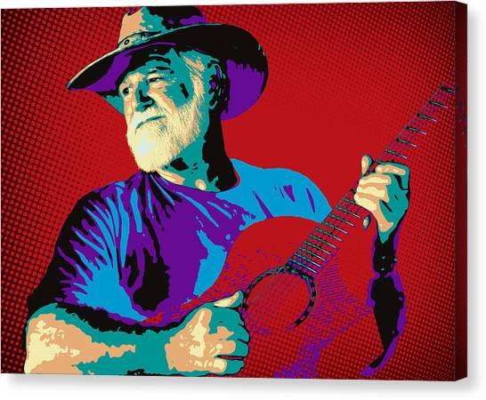 Jack Pop Art Canvas Print