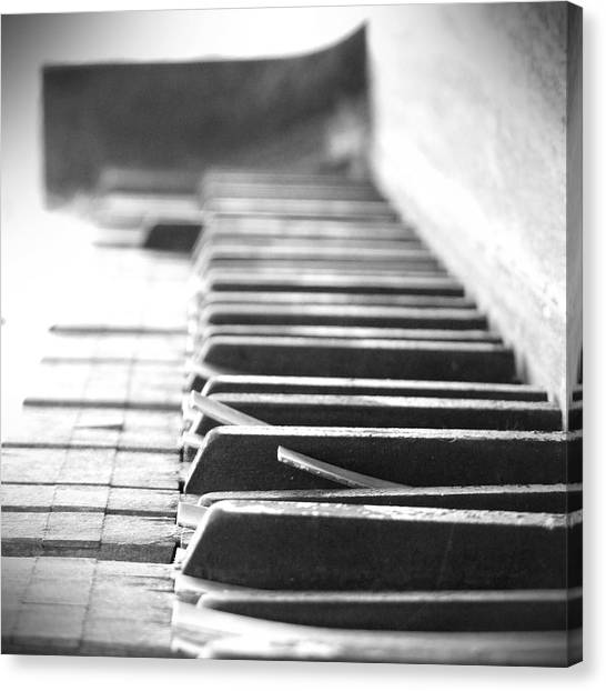 Pianos Canvas Print - Lost My Keys by Mike McGlothlen