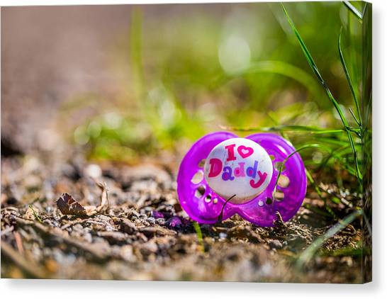 Lost Pacifier. Canvas Print