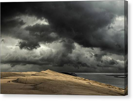 Dunes Canvas Print - Lost Paradise by Gilbert Claes
