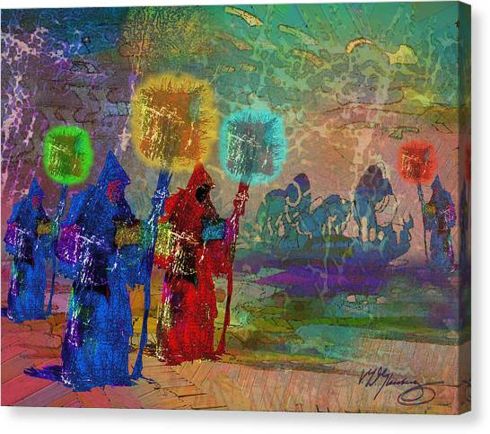 Lost Souls In Purgatory Canvas Print