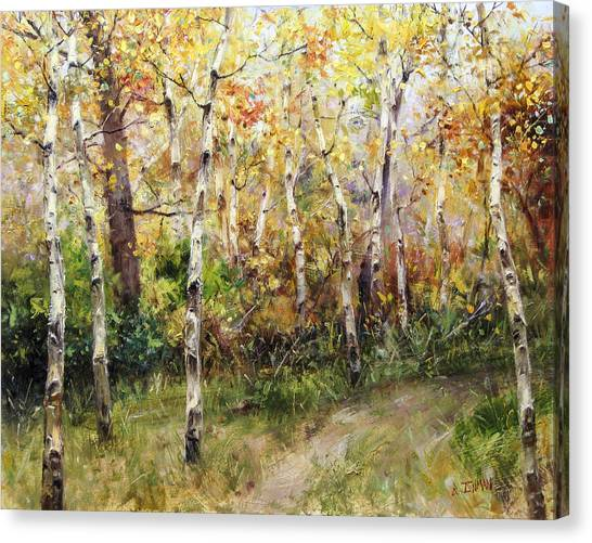 Lost Trail Found Canvas Print by Bill Inman
