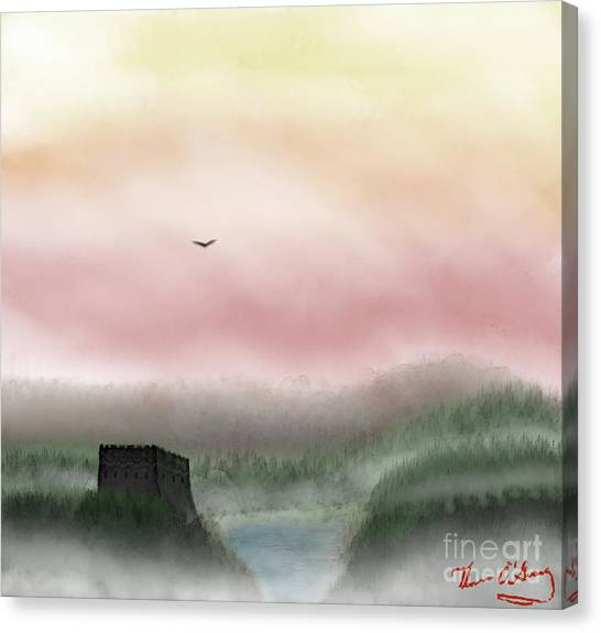 Lost Valley Canvas Print