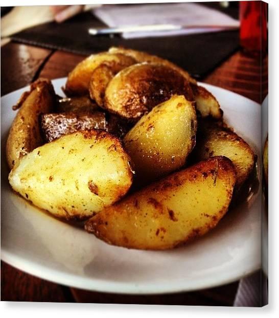 Potato Canvas Print - L'osterante Gusto Doc A #cormons by Prenota Per Due