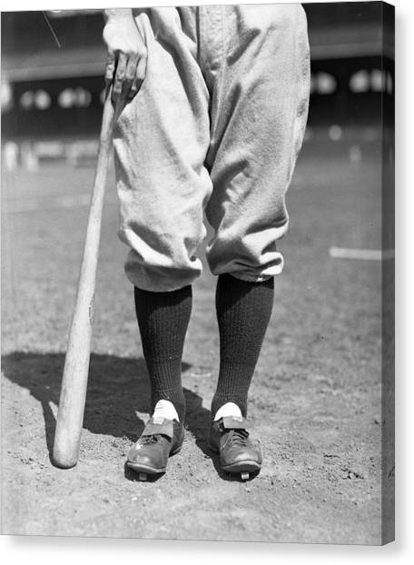 Braces Canvas Print - Lou Gehrig Of The New York Yankees by Retro Images Archive