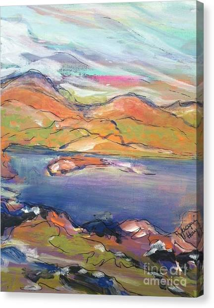 Loughrigg Fell Lake District Canvas Print