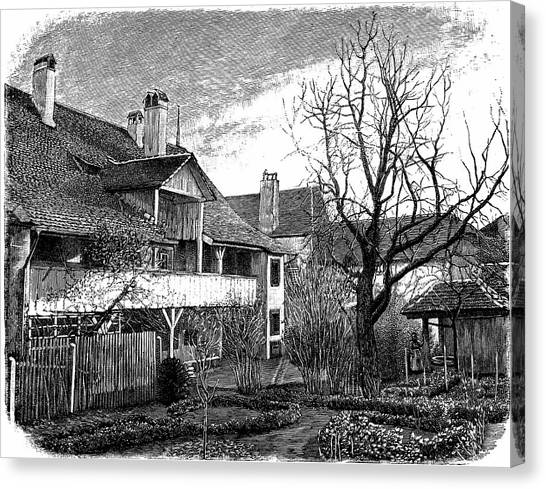 Louis Agassiz's Birthplace Canvas Print by Universal History Archive/uig