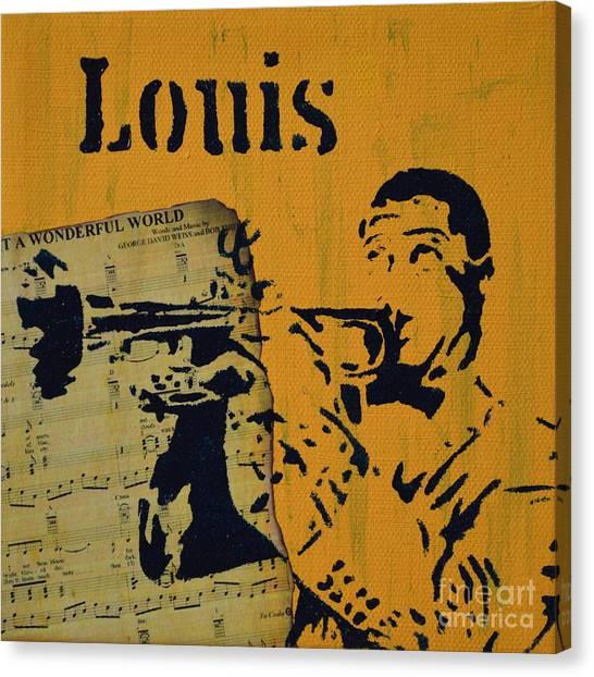 Louis Canvas Print