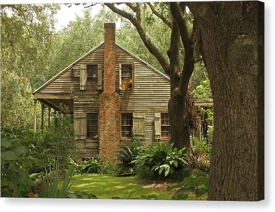 Louisiana Cajun Home Canvas Print