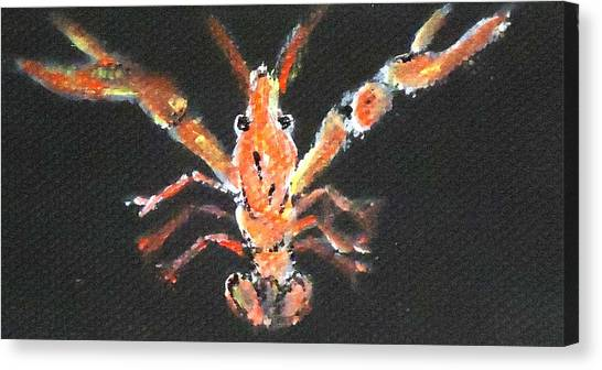 Louisiana Crawfish Canvas Print by Katie Spicuzza