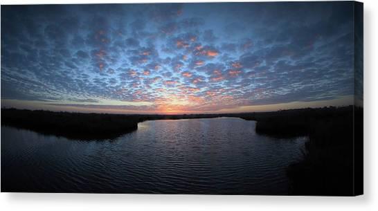 Louisiana Sunrise Canvas Print