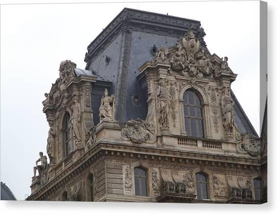 Le Louvre Canvas Print - Louvre - Paris France - 011328 by DC Photographer