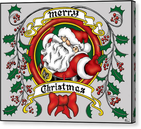 Canvas Print - Lovable Santa by Bill Proctor