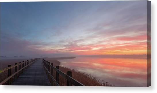 Early Canvas Print - Love A Morning Like This II. by Leif L?ndal
