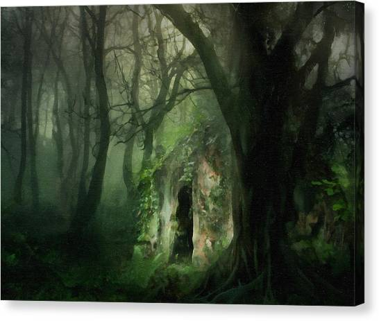 Love Affair With A Forest Canvas Print
