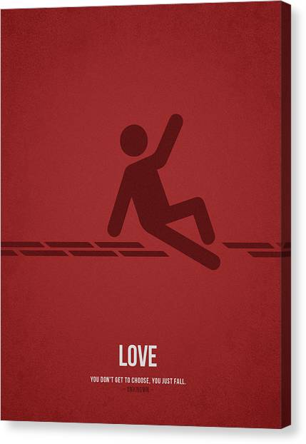 Choosing Canvas Print - Love by Aged Pixel