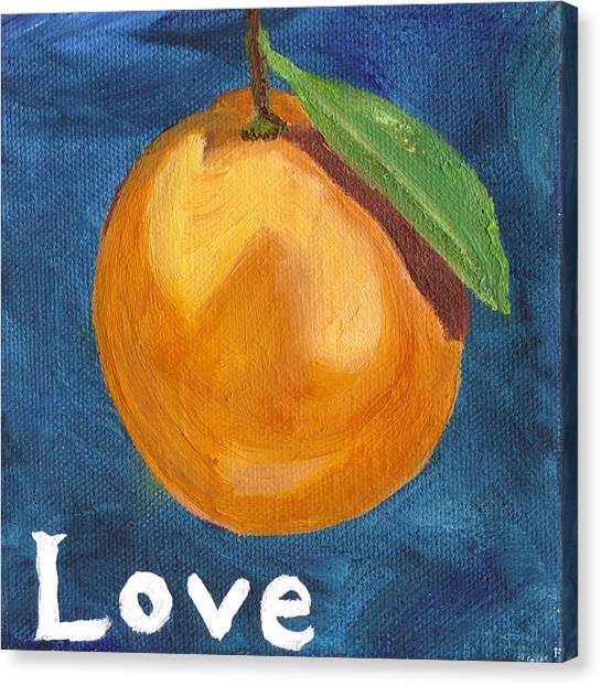 Love Canvas Print by Amber Joy Eifler
