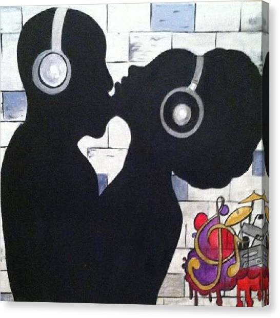 Hip Hop Canvas Print - Love And Hip Hop by Tiffani Sahara
