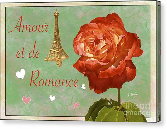 Love And Romance Canvas Print