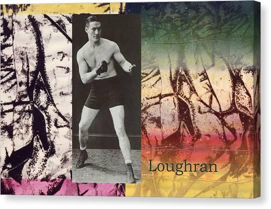 Love And War Loughran Canvas Print