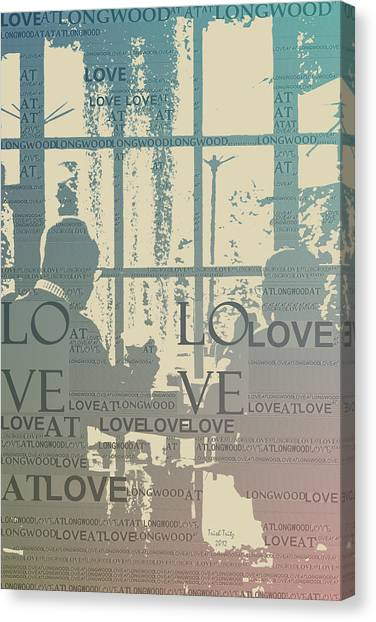 Love At Longwood Canvas Print
