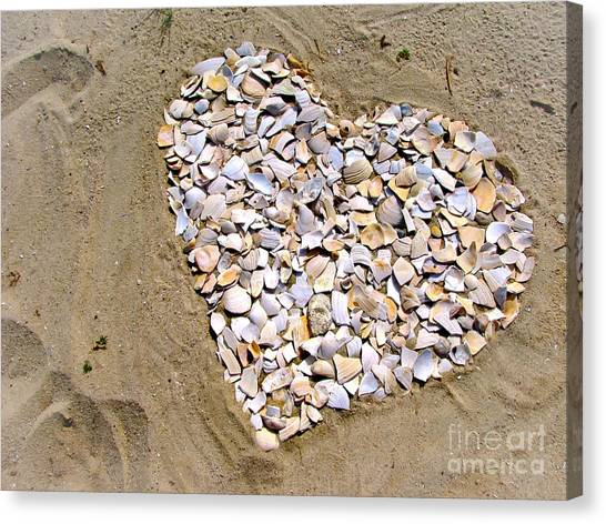 Love At The Jersey Shore Canvas Print