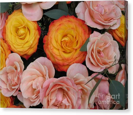 Love Bouquet Canvas Print