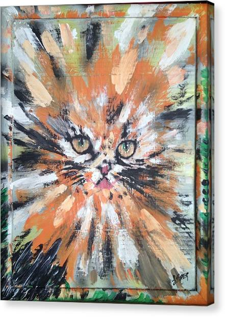 Ocicats Canvas Print - Love For Cats by Lisa Piper