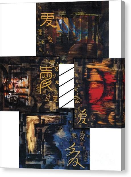 Love Four Seasons Canvas Print
