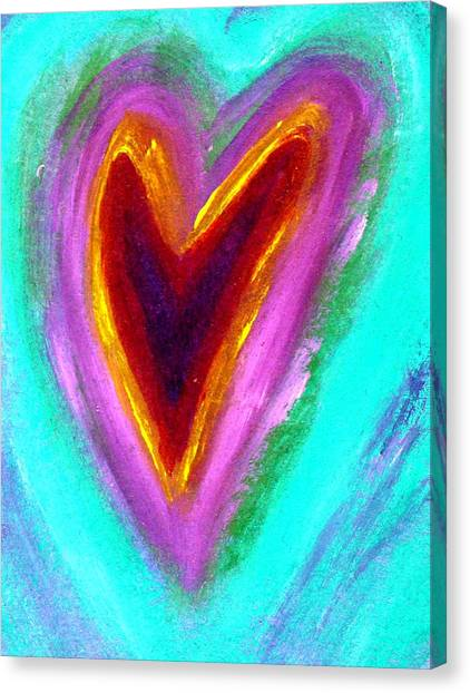 Love From The Heart Canvas Print