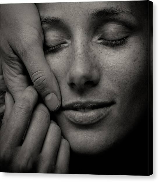 Tenderness Canvas Print - Love Inside by Andrey Nastasenko