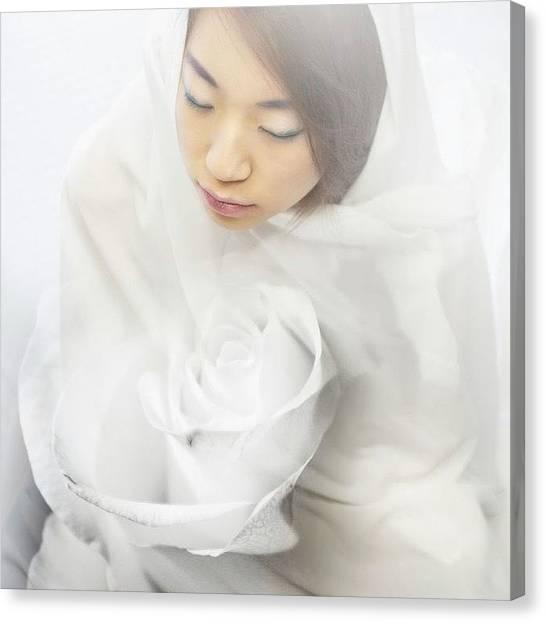 Korean Canvas Print - love Inside Me #photography #art by Diana Kunanova