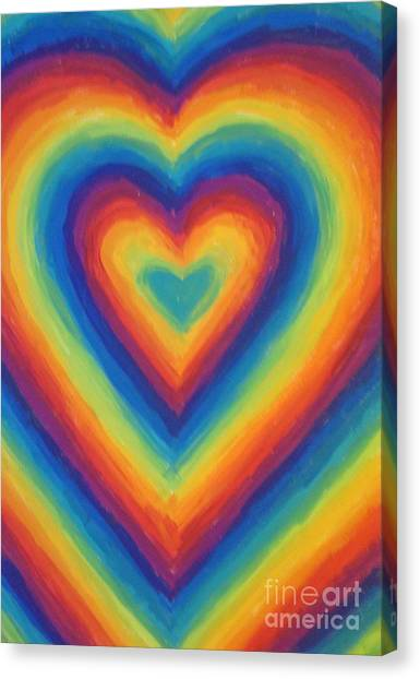 Love Canvas Print by Jedidiah Morley