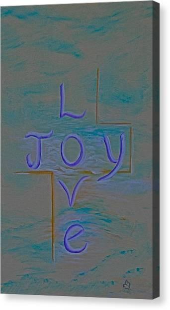 Love Joy Canvas Print by Mary Grabill