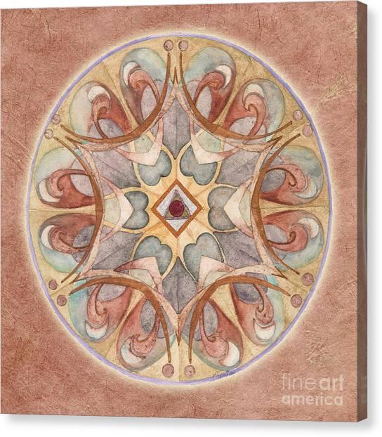 Love Mandala Canvas Print