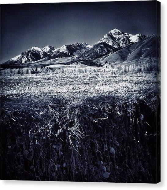 Idaho Canvas Print - Love Me Some #idaho by Cody Haskell