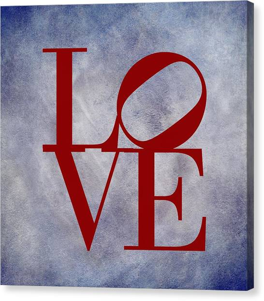 Delaware Valley Canvas Print - Love by Movie Poster Prints
