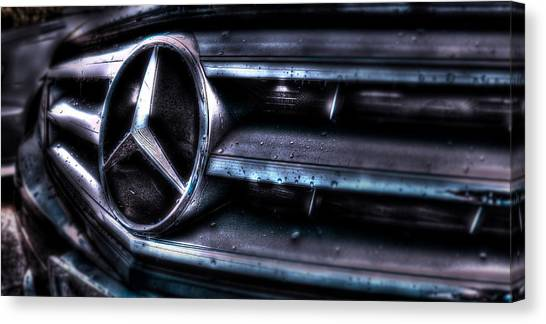 Love My Benz Canvas Print