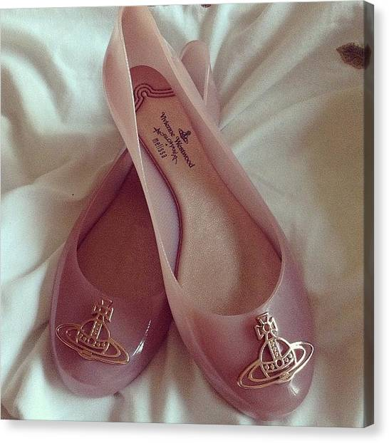 Pepper Canvas Print - Love New Shoes #new #vivienne #westwood by Abigail Pepper