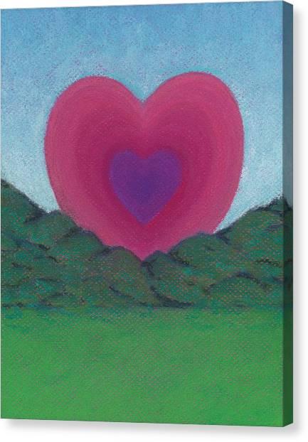 Love Rising Canvas Print