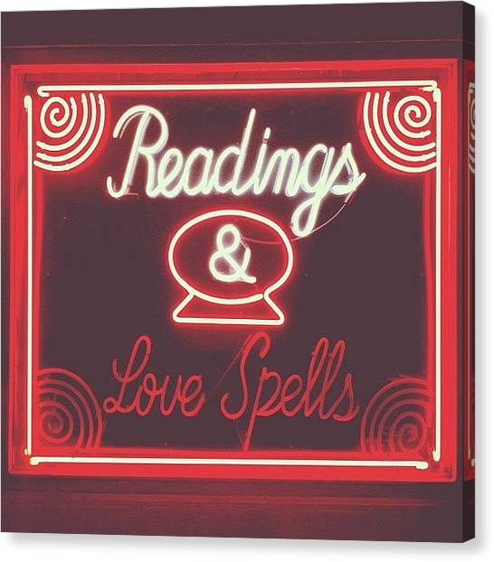 Witches Canvas Print - Love Spells by Courtney Jines
