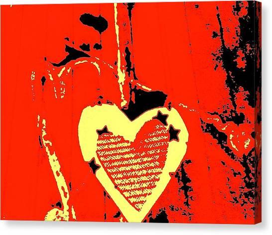 Love-star Canvas Print by Dorothy Rafferty