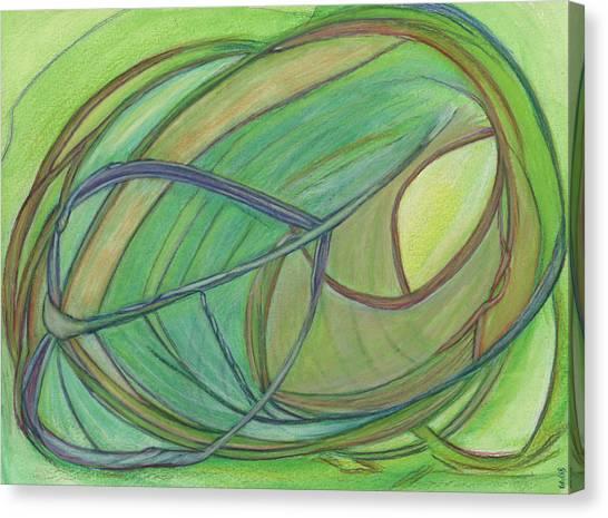 Loveliness Arises Canvas Print