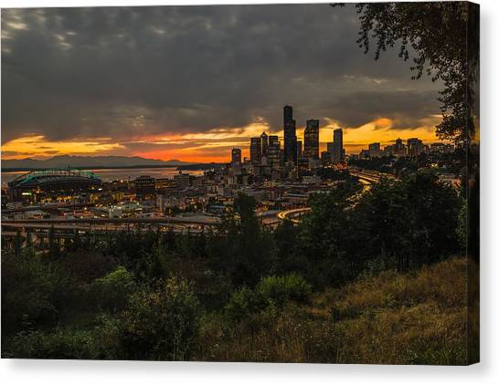 Lovely Seattle Canvas Print