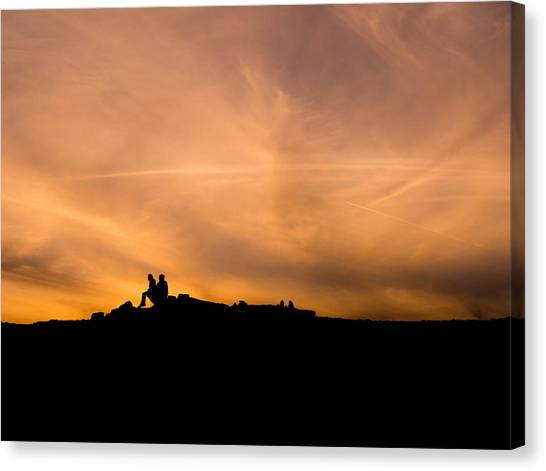 Atacama Desert Canvas Print - Lovers On Desert by Shohei Takada