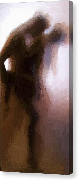 Erotic Canvas Print - Lovers by Steve K