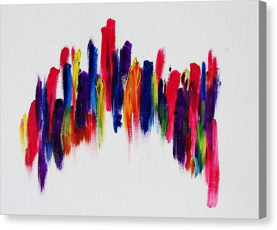 Love's Fiery Path Canvas Print by Tom Atkins
