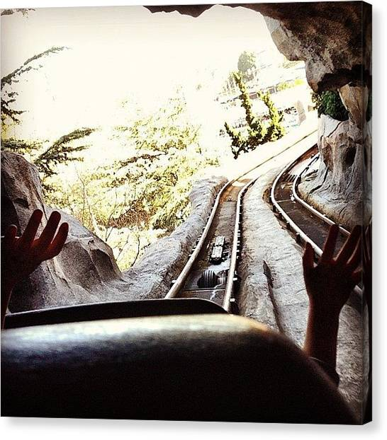 Matterhorn Canvas Print - Lovin' The Front Seat And The Fact by Heather Keyworth