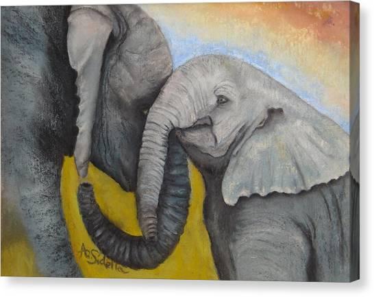 Loving Canvas Print